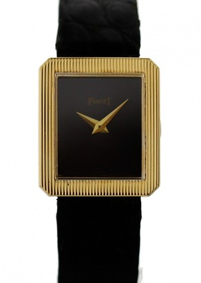 Piaget Vintage Protocole Black Yellow gold Watches