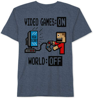 JEM Video Games Graphic-Print T-Shirt, Big Boys