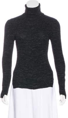 Celine Wool & Alpaca-Blend Turtleneck Sweater