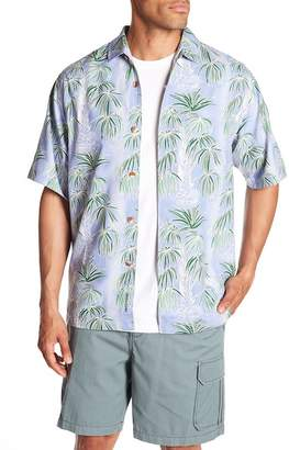 Tommy Bahama Cascading Palms Short Sleeve Original Fit Shirt