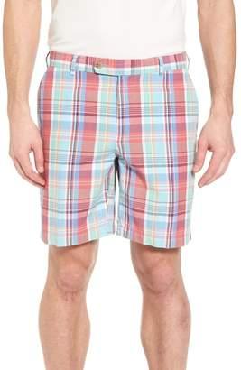 Peter Millar Seaside Madras Plaid Shorts