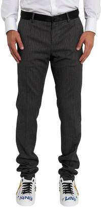 Dolce & Gabbana Vertical Stripes Motif Straight Trousers