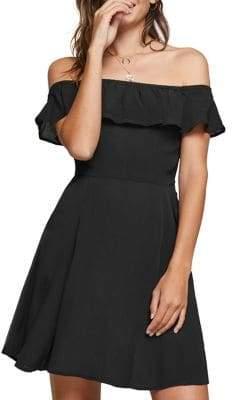 Miss Selfridge Bardot Skater Dress