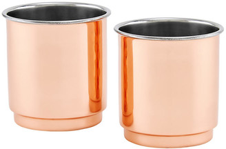 One Kings Lane Set of 2 Iver Tumblers - Copper