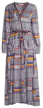 Lemlem Women's Kente Empress Robe Dress