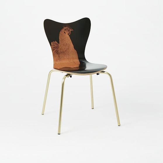 Rauschenberg® Scoop-Back Chair