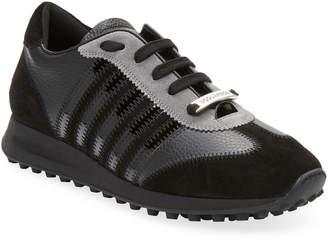 DSQUARED2 Vitello Ecoabrasivato Sneaker