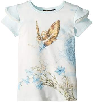 Rock Your Baby Fairy Short Sleeve Tee Girl's T Shirt