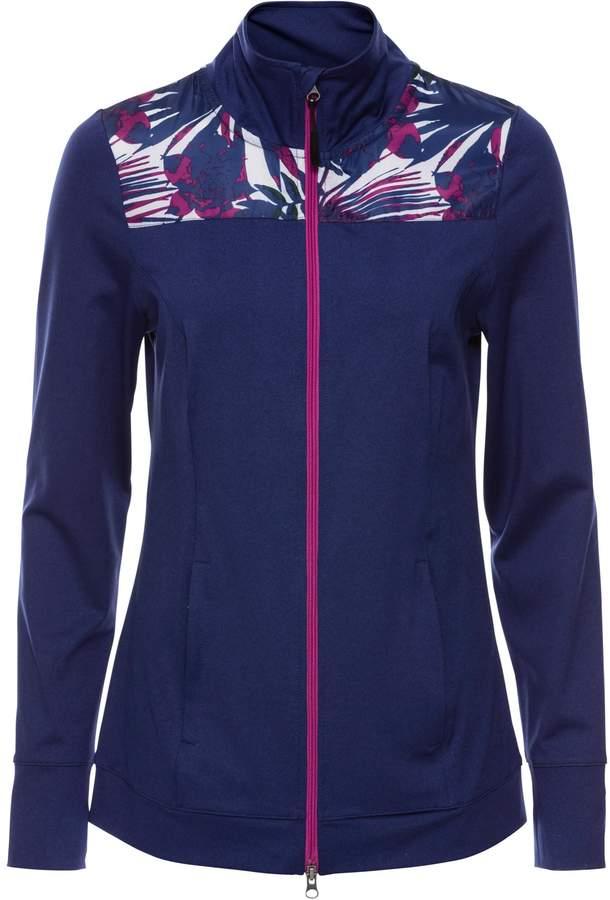 bpc bonprix collection Leichte Langarm-Sport-Jacke mit Kontrasteinsätzen