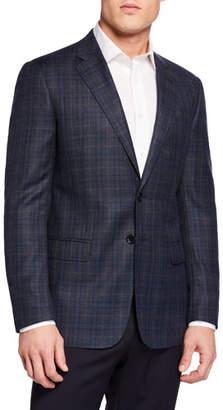 Giorgio Armani Men's Plaid Sport Coat