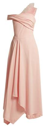 Preen by Thornton Bregazzi Ted Off The Shoulder Cady Dress - Womens - Pink