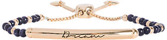 Joma Dream Bar Sandstone Bracelet, Gold/Blue