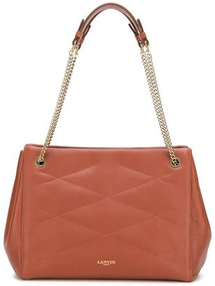 Lanvin quilted effect tote $2,490 thestylecure.com