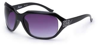 Bloc Black 'Miami' Round Oversized Sunglasses Dw F32