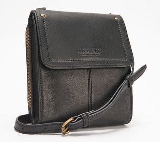 American Leather Co. Vintage Leather Crossbody - Kansas