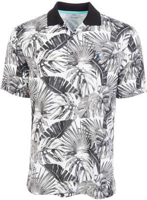 Greg Norman Attack Life by Men Tropical-Print Polo