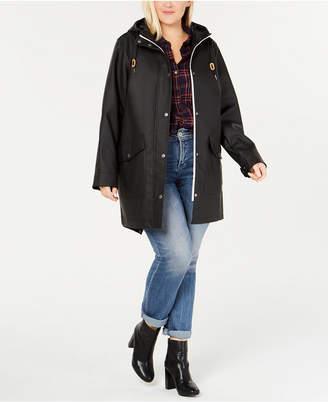 Levi's Plus Size Coated Hooded Parka Jacket