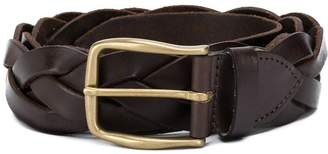 Eleventy woven buckle belt