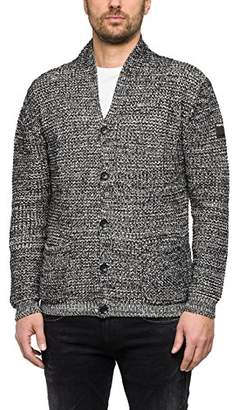 Replay Men's Uk1628.000.g22468 Jumper, (Black/White 10)