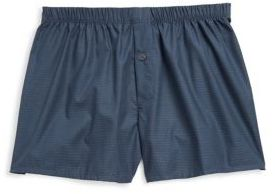Hanro Fancy WovenFancy Woven Boxers $49 thestylecure.com