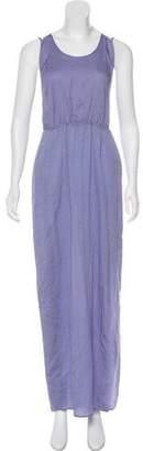 Halston Sleeveless Maxi Dress w/ Tags