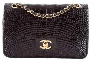 Chanel Alligator Small Classic Double Flap Bag