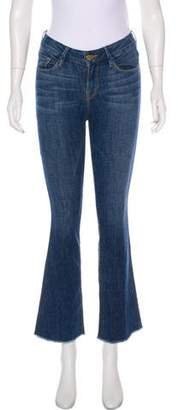 Frame Le Boot Mid-Rise Straight-Leg Jeans w/ Tags