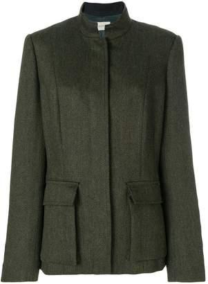 Holland & Holland high collar jacket