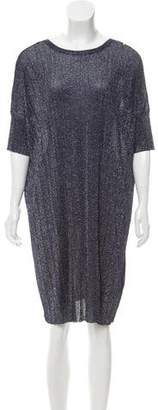 Diesel Metallic Knee-Length Dress
