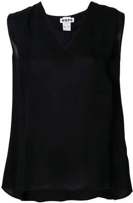 Hope V neck blouse