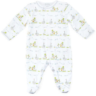 Kissy Kissy Noah's Ark Printed Footie Pajamas, Size Newborn-9 Months $40 thestylecure.com