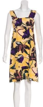 Marni Linen-Blend Dress
