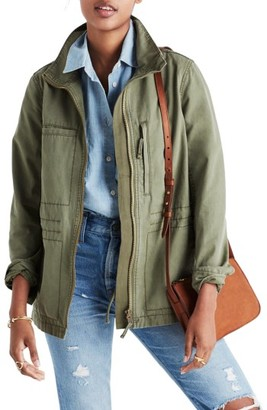 Women's Madewell Fleet Jacket $118 thestylecure.com