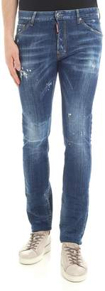 DSQUARED2 Medium Wash Cool Guy Jeans