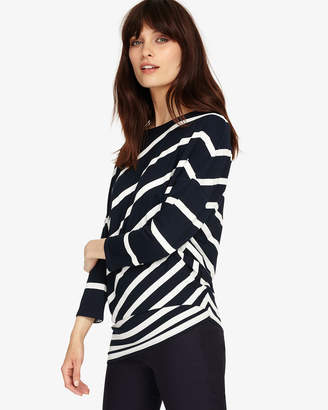 Phase Eight 3/4 Sleeve Amy Asymmetric Stripe Top
