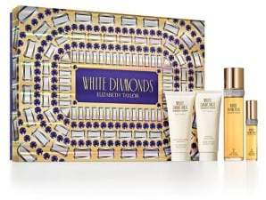 Elizabeth Taylor White Diamonds Holiday 4-Piece Gift Set - $121 Value