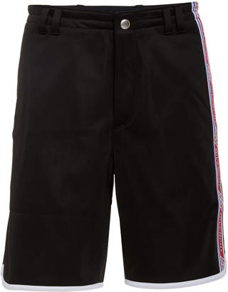 Givenchy Logo-Trimmed Satin-Jersey Shorts