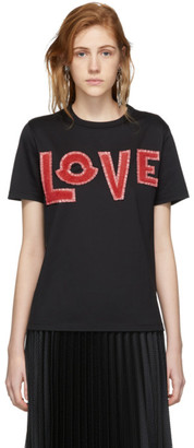 Moncler Genius 2 1952 Black Love T-Shirt