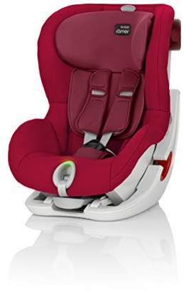 Britax Römer KING II LS Car Seat, Group 1 (9 - 18 kg), Collection 2017, Flame Red