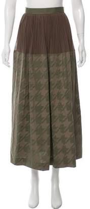 Kolor Printed Midi Skirt