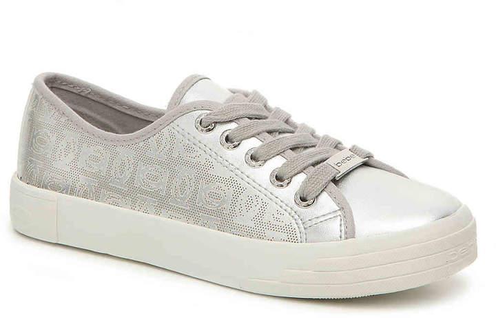 Women's Bebe Dane Sneaker -White Fabric