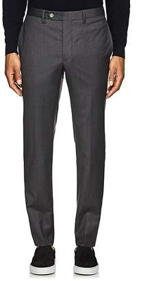 Officine Generale MEN'S VIRGIN WOOL TAILORED TROUSERS