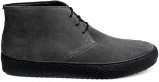 H&M Suede Desert Boots - Black