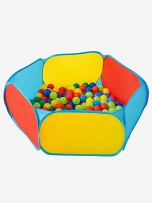 Activity Playpen with Balls - green medium solid with desig