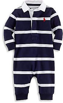 Ralph Lauren Baby Boy's Solid Cotton Coverall