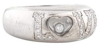 Chopard 18K Diamond Love Ring