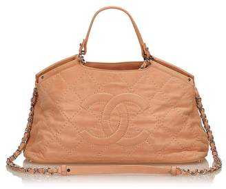 Chanel Vintage 2 Way Leather Handbag