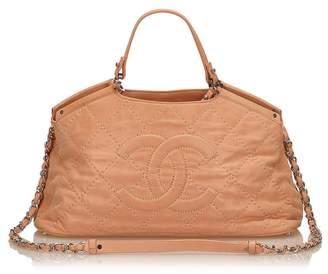 Chanel Vintage 2 Way Leather Handbag