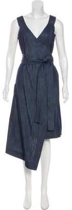 Alexis Chambray Wrap Dress