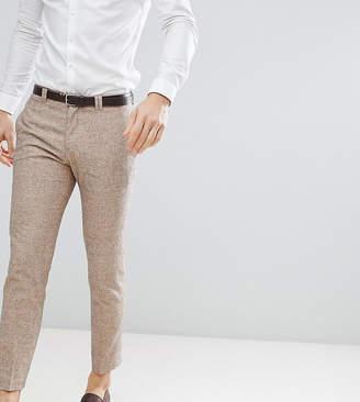 Noak slim wedding suit pants in linen